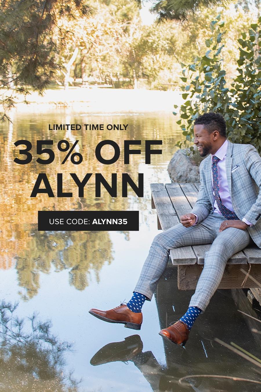 35% Off Alynn with code ALYNN35